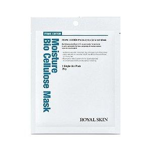 Máscara Facial Bio Celulose - Royal Skin Prime Moisture