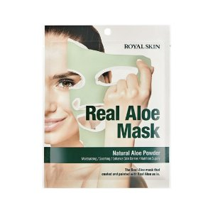 Máscara Facial Calmante Royal Skin Real Aloe Mask
