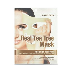 Máscara Facial Hidratante Royal Skin Real Tea Tree