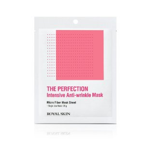 Máscara Facial Anti-Idade Microfibra - Royal Skin The Perfection Anti-Wrinkle