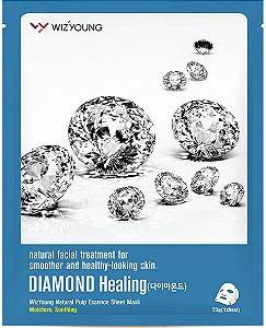 Máscara Facial Hidratante - Wizyoung Diamond