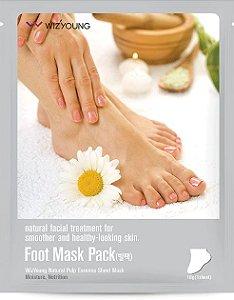 Máscara Hidratante para pés Wizyoung Foot Essence Mask - SISI
