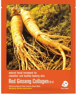 Máscara Facial Antissinais Red Ginseng Wizyoung - SISI
