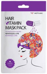 Máscara Nutritiva para Cabelo SISI -  Wizyoung Steam Hair Mask DAMAGE CARE