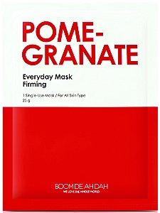 Máscara Facial Firmante SISI - Everyday Mask Romã - Boom De Ah Dah