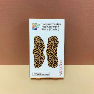 Adesivo anti-cravos Purederm Leopard pore cleansing strips [combo]- SISI
