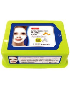 Pacote com 24 máscaras Radiance-Pick Vitamin Purederm - SISI