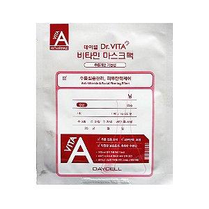 Máscara Facial de Vitamina A, B e C Daycell Dr. Vita - SISI