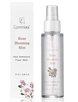 Névoa Facial Commleaf Rose Blooming Mist Controla a oleosidade da pele - SISI