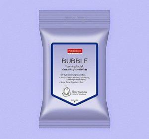 Lenço demaquilante 3 em 1 Purederm Bubble - SISI