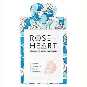 Máscara Facial Coração Rose Heart 2 passos - SISI