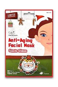 Máscara Facial com estampa de Papai Noel - SISI