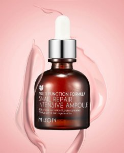 AMPOLA FACIAL - SNAIL REPAIR INTENSIVE AMPOULE 30ml - MIZON
