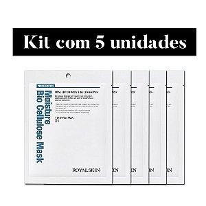Kit de 5 máscaras Bio Celulose - Royal Skin Prime Moisture