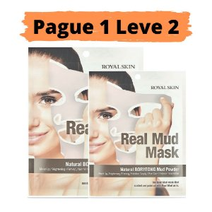 PAGUE 1 LEVE 2 Máscara facial hidratante - Royal skin real mud
