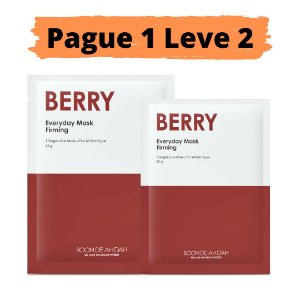 PEGUE 1 LEVE 2 Máscara facial firmante - Boom de ah dah berry
