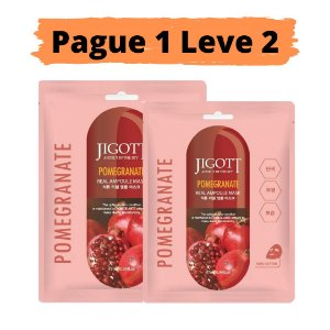PAGUE 1 LEVE 2 Máscara facial firmante - Jigott Pomegranate