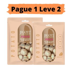 PAGUE 1 LEVE 2 Máscara facial iluminadora - Jigott potato