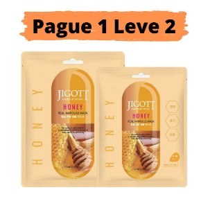 PAGUE 1 LEVE 2 Máscara facial hidratante - Jigott honey