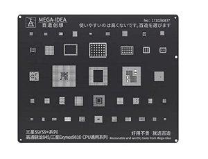 Stencil Reballing bga Samsung S9 / S9 +