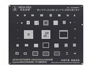 Stencil Reballing bga Samsung 8895/MSM8998 CPU FOR stencil S8/S8+/NOTE8 SERIES G9500/G955U/N9500 ( BZ 17 )