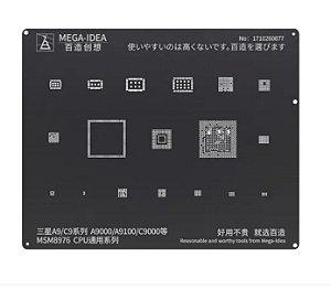 STENCIL BLACK BGA SAMSUNG A9/C9/A9000/A9100 /C9000