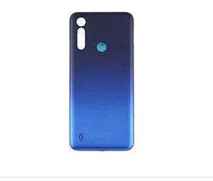 TAMPA TRASEIRA MOTO G8 POWER LITE XT2055 azul