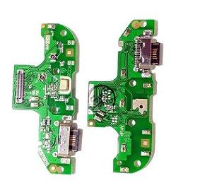 PLACA CONECTOR DE CARGA MOTO G8 Play Xt2015-2