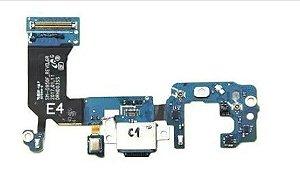 Conector De Carga Porta Flex Microfone S8 G950 Dock s8