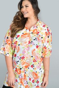 Camisão Estampa Margarida