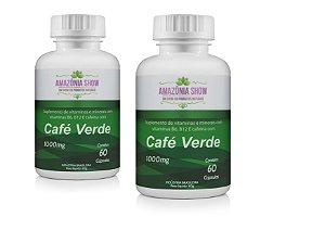 Cafe Verde 60 Capsulas 1000mg Combo com 2 Frascos