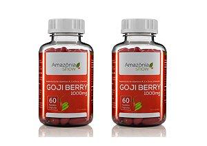 Goji Berry 60 Capsulas 1000mg Combo com 2 Frascos