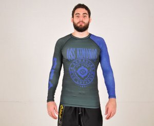Rash Guard Azul