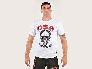Camiseta Oss Kimonos Jiu Jitsu Branca