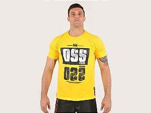 Camiseta Oss Kimonos Amarela