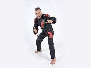 Kimono Jiu Jitsu Oss Masculino Competition Preto