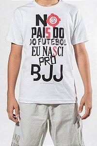 Camiseta Infantil Eu nasci pro BJJ