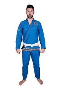 Kimono Tradicional Meia Mira Azul