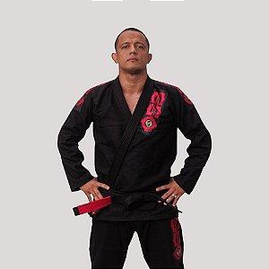 Kimono Jiu Jitsu Oss Clássico Preto