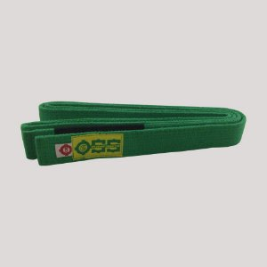 Faixa Jiu-Jitsu Trançada Verde