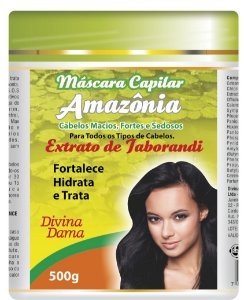 Amazônia Máscara Capilar500g - Extrato de Jaborandi