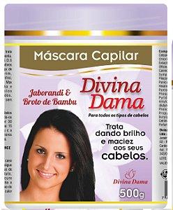 Divina Dama Mascara 500g -  Jaborandi + Broto de Bambú