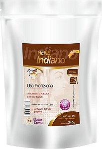 Indiano Henê Pó 240g Pouche Chocolate