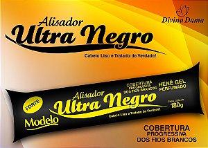 Hene Gel Alisador Ultra Negro 180g Bisnaga