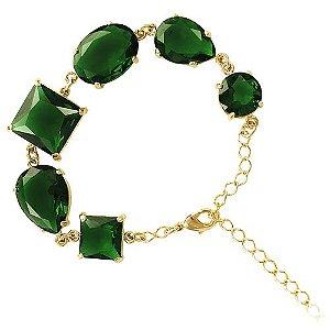 Pulseira Cristal Verde
