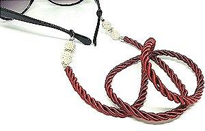 Corrente Salva Óculos Vermelha