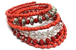 Bracelete Memory Vermelho