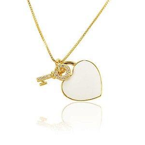 Colar Coração Inspired Tiffany