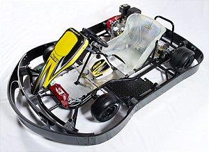 Chassis KartMini INDOOR com Reforço - Proteção Lateral
