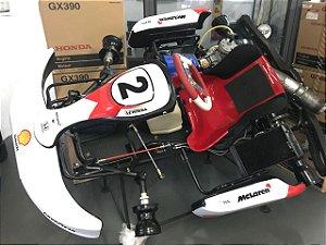 KartMini 2012 Modelo M2 com Motor 125cc - Araça e Kit de Refrigeração - * 6 x sem juros
